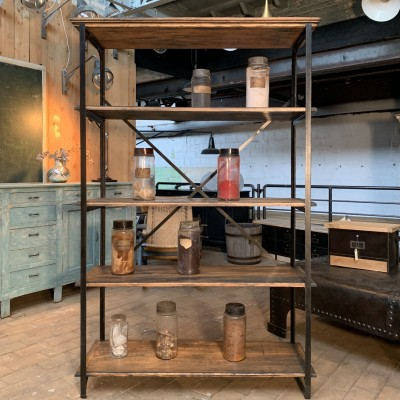 "Industrial shelf ""scherf"" 1950"