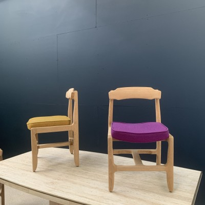 Set of 6 chairs Guillerme and Chambron