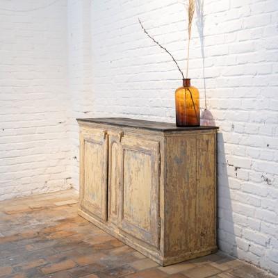 Ancien meuble 2 portes 1880