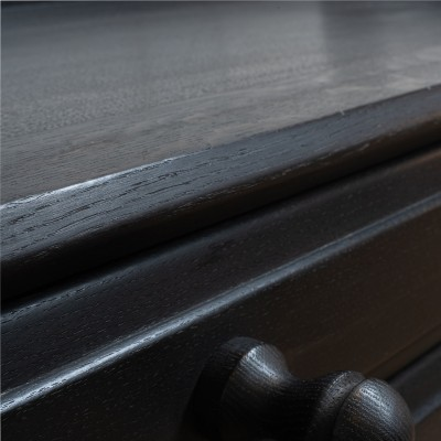 French designer oak chest of drawers.