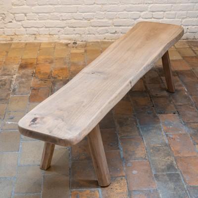 Pair of brutlist benches by Olavi HANNINEN