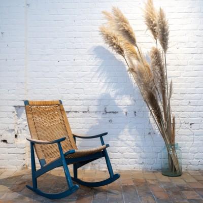 Ancien rocking chair 1970