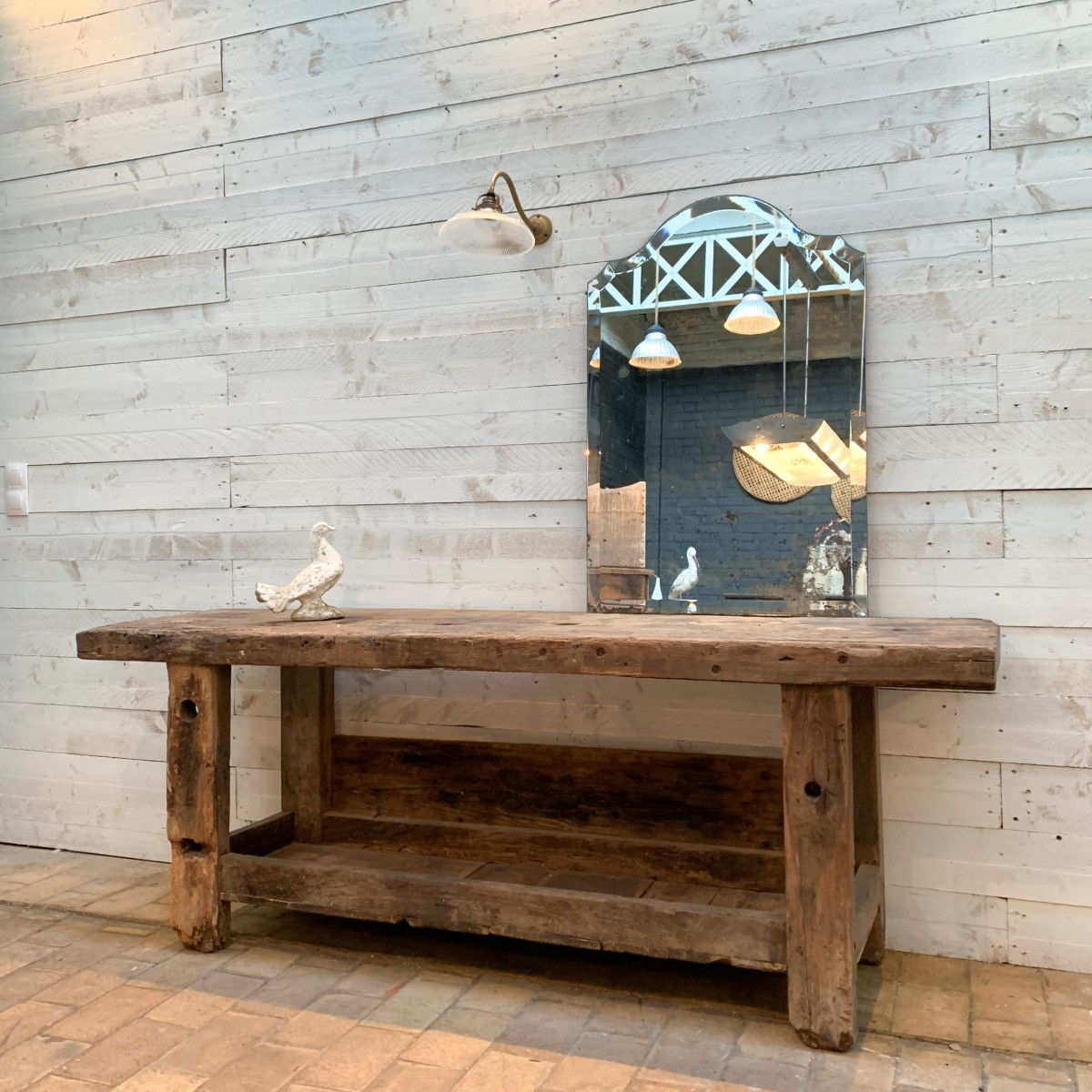 Oak workbench