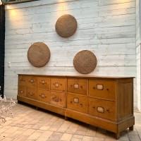 Large wooden drawer cabinet 1930