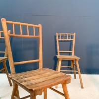 Brutalist chair series
