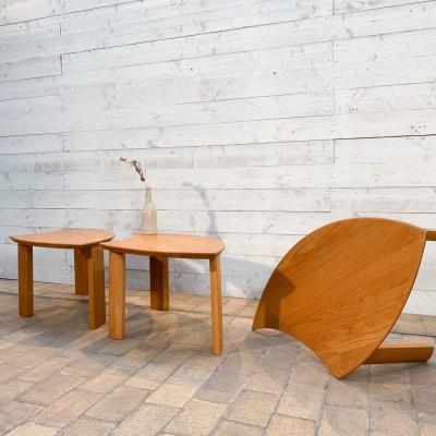 Designer coffee table in elm