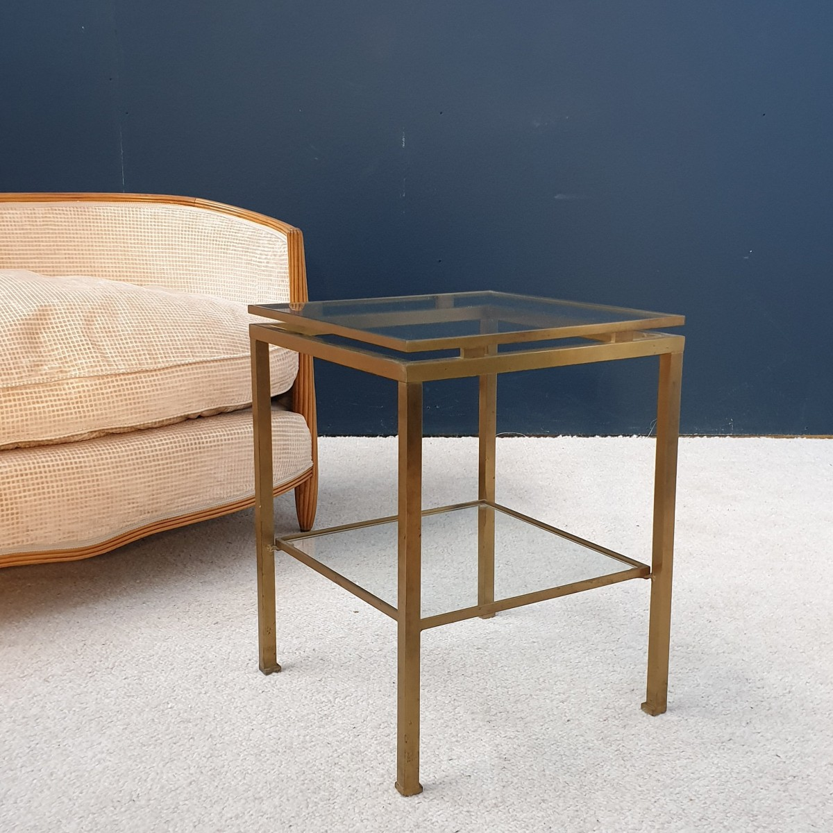 End table Maison JANSEN Paris