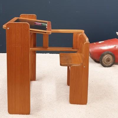 foldable children's desk