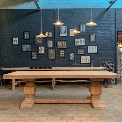 Oak monastery table