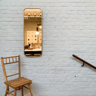 Ancien miroir asymétrique 1960