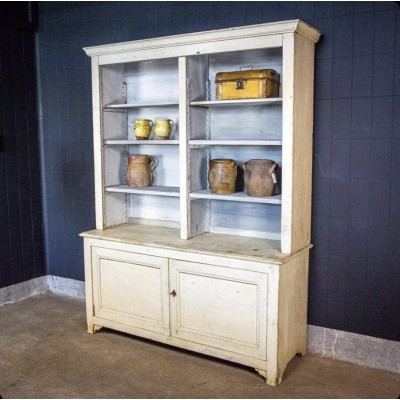 Wooden kitchen cabinet around 1880