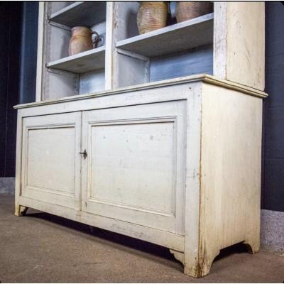 Wooden kitchen cabinet around 1880