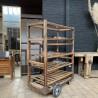 Ancien chariot de boulangerie