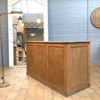 Oak counter shop