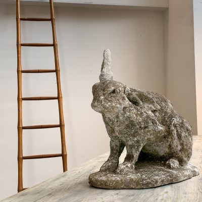 Concrete rabbit