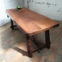 brutalist table