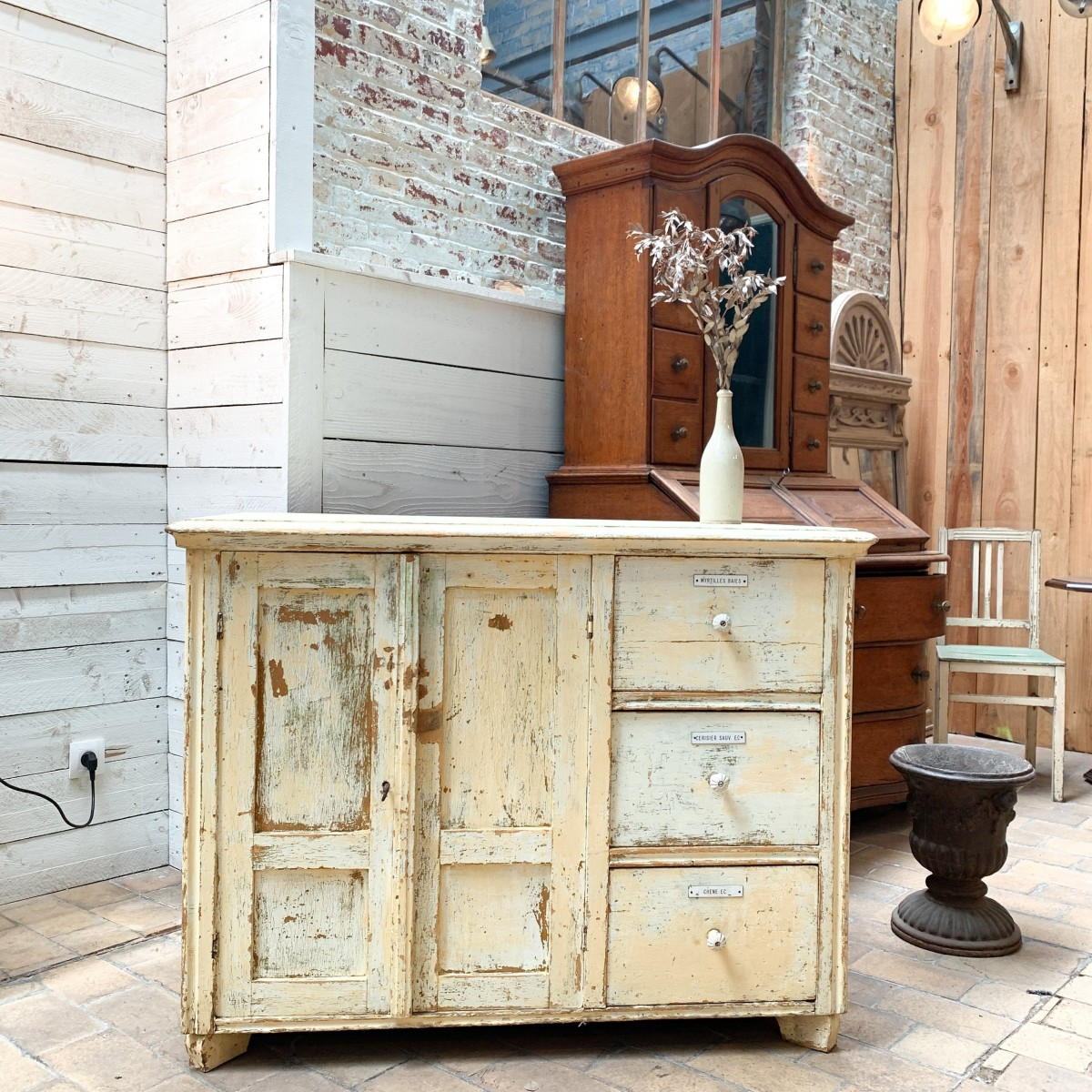 French wooden shop furniture