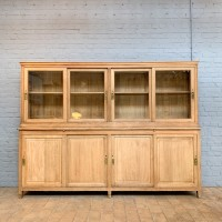 Oak French bookcase 1950