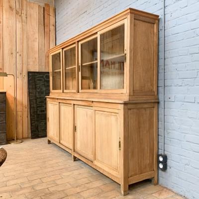 Old oak bookcase 1950