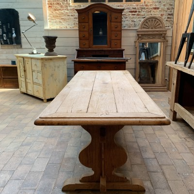 French oak monastery table