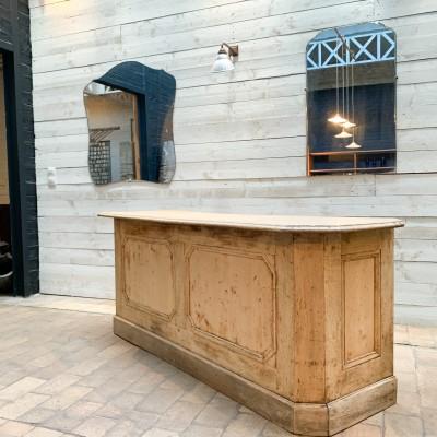 Ancien comptoir de commerce meuble de metier
