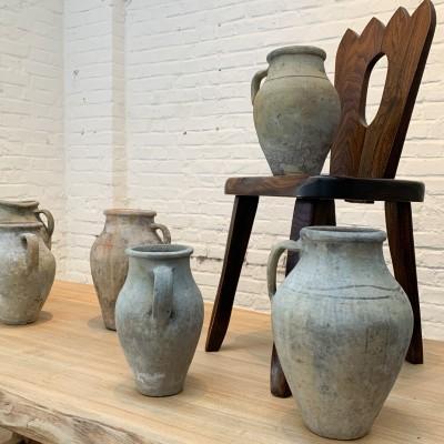 Série de 10 poteries en terre cuite