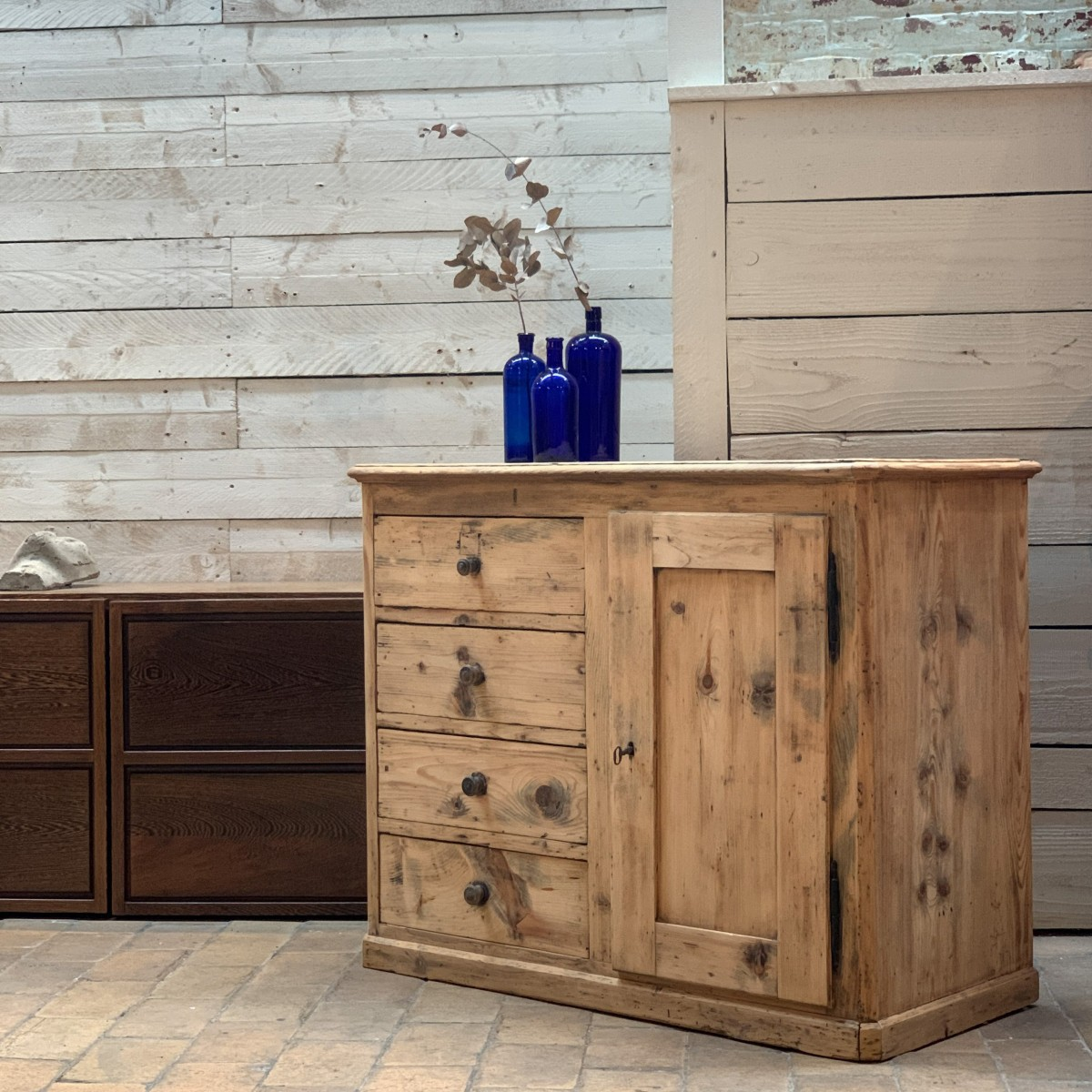 French wooden sideboard 1950