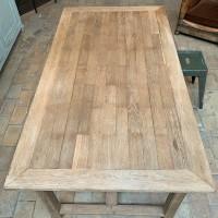 French oak farm table circa 1950