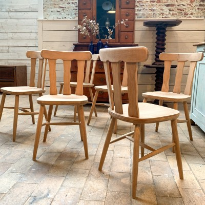 French bistro chairs 1950