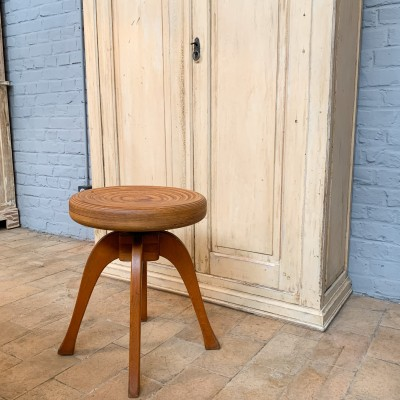 Wooden stool 1950