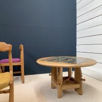 """Table ronde ajustable Guillerme & Chambron edition """"Votre Maison"""""""