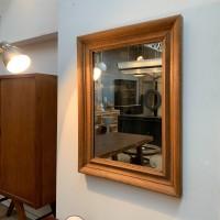 French oak mirror