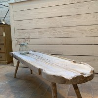 Primitive wooden coffee table