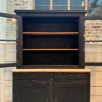 Wooden french cabinet
