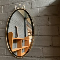 French vintage mirror 1960