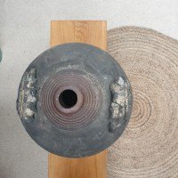 Old terracotta jar