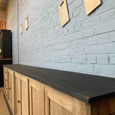 Large wooden workshop cabinet