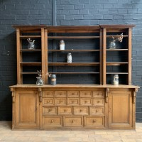 Former  French pharmacy cabinet from the 1930s