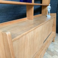 Asymmetrical design sideboard 1960 in oak