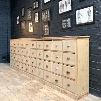 French hardware cabinet