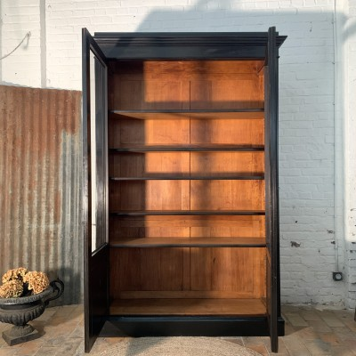 French 19th century wooden bookcase