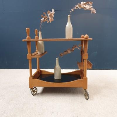 Chariot de bar TROLLEY par GUILLERME et CHAMBRON