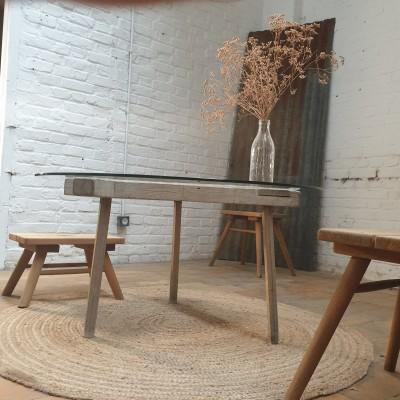 PRIMITIVE COFFEE TABLE