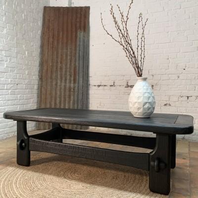 Ancienne table basse des années 50 Guillerme Chambron