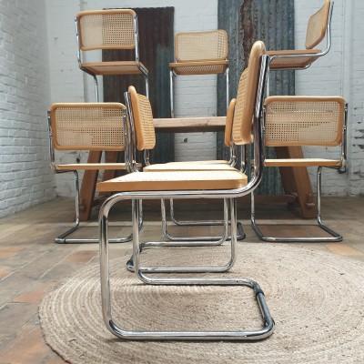 Chaises type B32 de Marcel BREUER