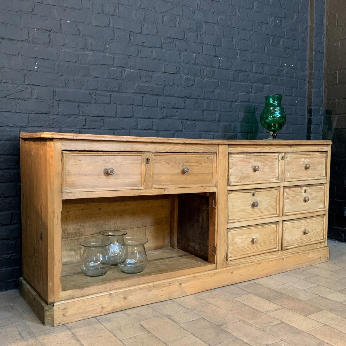 Wooden worshop cabinet