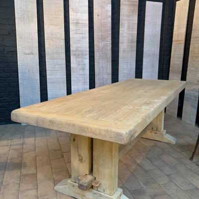 Former oak monastery table