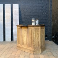 Oak French counter shop