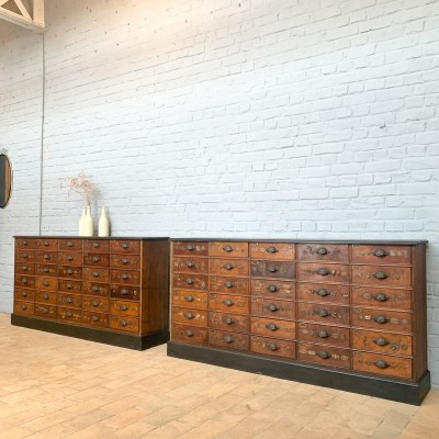 French oak hardware furniture 1930