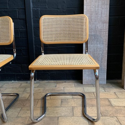 Pair of Marcel Breuer B32 chairs